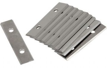Linbide LGPS50 & Stanley 0-28-640 compatible 50mm tungsten carbide scraper blades - 10 pieces